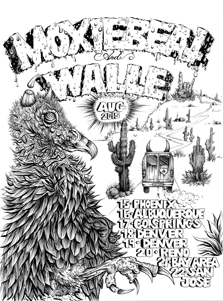 Moxiebeat and Walle August 2015 Tour